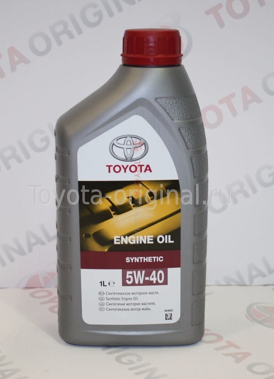 оригинальное масло toyota rav