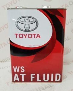 Transmissionnoe maslo Toyota WS dlya AKPP 08886-02305 4L Japan yaponiya